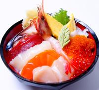 海鮮おまかせ丼 ネタ10点盛