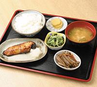 銀タラ定食